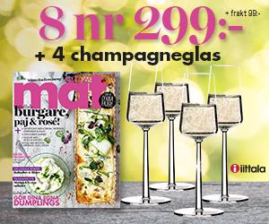 Allt om Mat 8 nr + 4 st champagneglas ur serien Essence från Iittala för endast 299 kr Rabatt / Återbäring