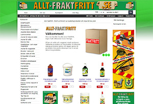 Allt-fraktfritt Rabatt / Återbäring
