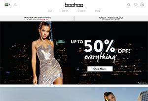 boohoo.com Rabatt / Återbäring