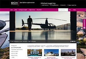 Box Experience Rabatt / Återbäring