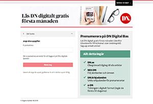 Dagens Nyheter Rabatt / Återbäring