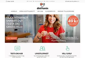 DinVitamin Rabatt / Återbäring