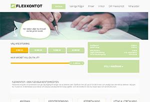 Flexkontot Rabatt / Återbäring