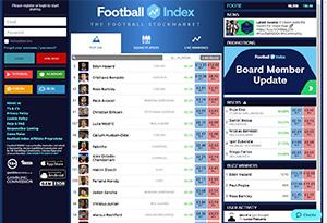 Football Index Rabatt / Återbäring