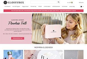 Glossybox Rabatt / Återbäring