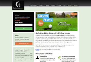 Golfhäftet Rabatt / Återbäring