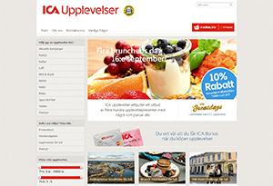 ICA Upplevelser Rabatt / Återbäring