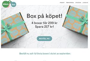 Kökets Box Rabatt / Återbäring