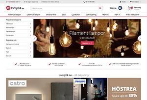 Lamp24 Rabatt / Återbäring