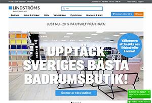 Lindströms Bad & Kakel Rabatt / Återbäring