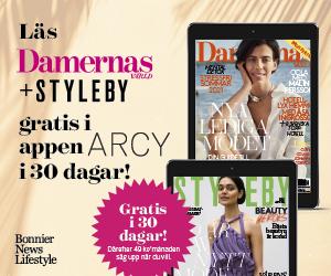 30 dagars kostnadsfri läsning av M-magasin i ARCY Rabatt Cashback