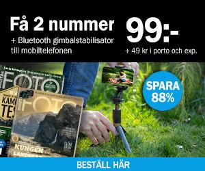 Digital FOTO + Bluetooth gimbalstabilisator till mobiltelefonen Rabatt / Återbäring