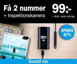 Digital FOTO + Inspektionskamera Återbäring