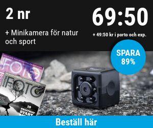Digital FOTO + Minikamera Rabatt / Återbäring