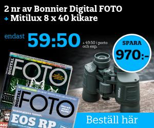 Digital FOTO + Proffskikare Återbäring