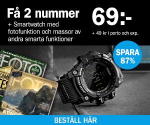 Digital FOTO + Smartwatch Återbäring