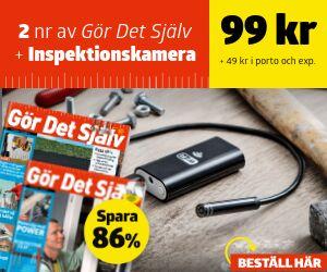 Tidningspremie: Gör Det Själv + Inspektionskamera