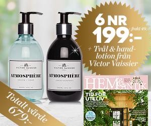 Hem & Antik - 6 nr + tvål & handkräm från Victor Vaissier Återbäring