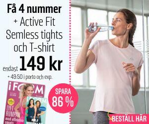 I FORM + Active Fit- Semless tights och T-shirt Rabatt / Återbäring