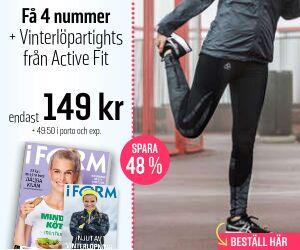I FORM + Active Fit Vinterlöpartights Återbäring