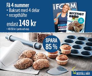 I FORM + Bakset med 4 delar Återbäring