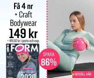 Tidningspremie: I FORM + Craft Bodywear