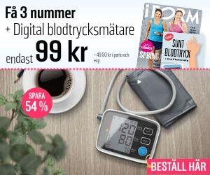 I FORM  + Digital blodtrycksmätare Rabatt / Återbäring