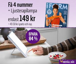 I FORM + Ljusterapilampa Rabatt / Återbäring