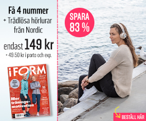 I FORM + Nordic trådlösa hörlurar Återbäring