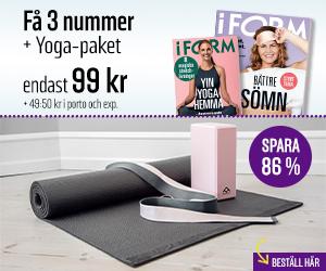I FORM + Yoga-paket Återbäring