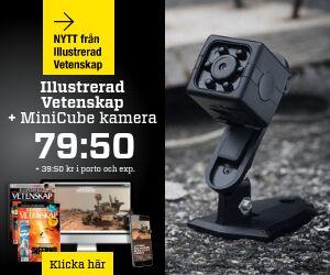 Tidningspremie: Illustrerad Vetenskap + MiniCube kamera