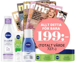 mama - 5 nr + 5 produkter från Nivea Rabatt / Återbäring