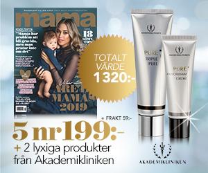 mama - 5 nr + 2 lyxiga produkter från Akademiklinken för endast 199 kr Rabatt / Återbäring