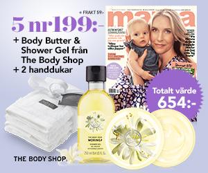 mama - 5 nr av mama + Body butter & Shower gel + 2 handdukar för endast 199 kr Rabatt / Återbäring