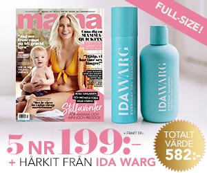 Mama - 5 nr + Hårkit från Ida Warg Återbäring