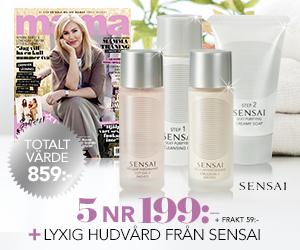 Mama - 5 nr + lyxigt hudvårdskit från Sensai Rabatt / Återbäring