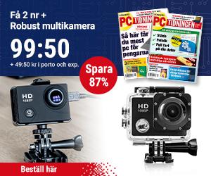 PC-tidningen + Robust multikamera Återbäring