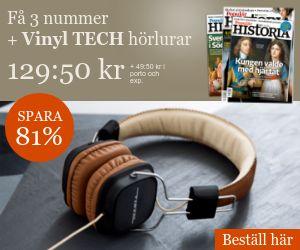Populär Historia + Vinyl Tech hörlurar Rabatt / Återbäring