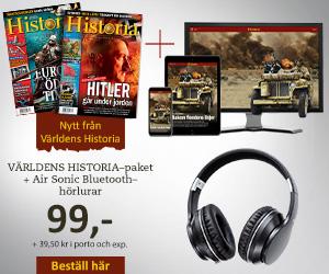 Världens Historia + Air Sonic Bluetooth-hörlurar Rabatt / Återbäring