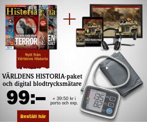 Världens Historia + Digital blodtrycksmätare Rabatt / Återbäring