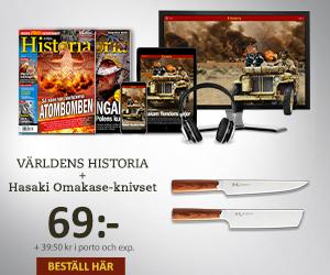 Världens Historia + Hasaki Omakase-knivset Rabatt / Återbäring