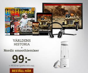 Världens Historia + Nordic smoothiemixer Rabatt / Återbäring