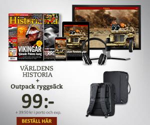 Världens Historia + Outpack ryggsäck Återbäring