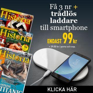 Världens Historia + trådlös laddare till smartphone Rabatt / Återbäring