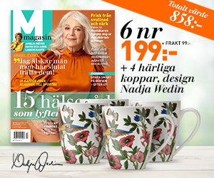 M-magasin - 6 nr + 4-pack muggar från Nadja Wedin för endast 199 kr Återbäring