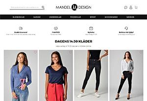 Mandel Design Rabatt / Återbäring