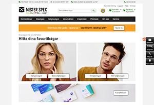 Mister Spex Rabatt / Återbäring