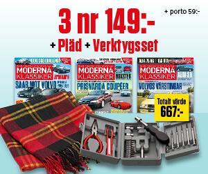 Moderna Klassiker - 3 nr + pläd + verktygsset för endast 149 kr Återbäring