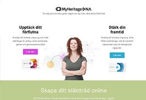 MyHeritage Rabatt / Återbäring