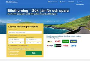 Rentalcars Rabatt / Återbäring
